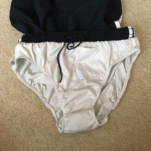 Nike Shorts - Nike Fit Dry Tempo Navy/Blue Running Shorts -Small